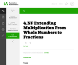 4.NF Extending Multiplication From Whole Numbers to Fractions