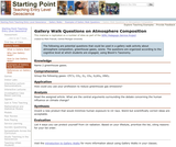 Gallery Walk Questions on Atmosphere Composition