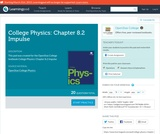 College Physics: Chapter 8.2 Impulse (Quiz)