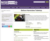 Balloon Nanotubes Tabletop