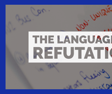 The Language of Refutation In Debate