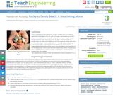 Rocky-to-Sandy Beach: A Weathering Model