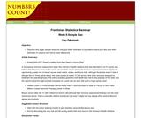 Freshman Statistics Seminar - Week 6:Sample Size