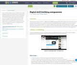 Digital skill building assignments