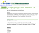 7th Grade Life Science at the Observatory: Life Throughout the Universe