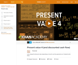 Finance & Economics: Present Value 4 (and Discounted Cash Flow)