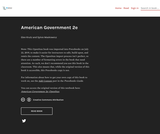 American Government 2e