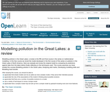 Modeling Pollution in the Great Lakes: A Review
