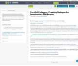Parallel Pedagogy: Creating Dialogue for Introductory Mechanics