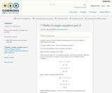 7 Maths 4 simple equation part 4