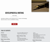 Developmental Writing