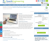 Build & Play Binary Digital Trumpets