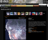 EROS Image Gallery: Earth as Art 2