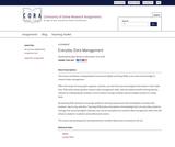 Everyday Data Management