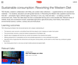 Sustainable consumption: Reworking the Western Diet