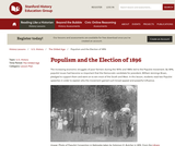 Reading Like a Historian: Populism and the Election of 1896