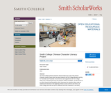 Smith College Chinese Character Literacy Project