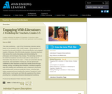 Engaging With Literature: A Workshop for Teachers