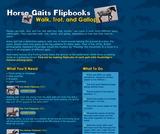 Horse Gaits Flipbooks
