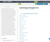 Android Apps with AppInventor