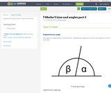7 Maths 5 Line and angles part 2