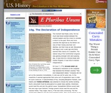 10g. The Declaration of Independence