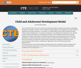 Child and Adolescent Development Model