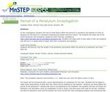 Period of a Pendulum Investigation