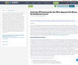 Activity: #Tweeting the Air War Against the Nazis by Katherine Lorio