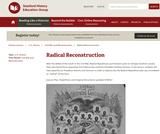 Reading Like a Historian: Radical Reconstruction