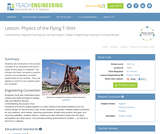 Physics of the Flying T-Shirt