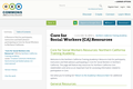 Core for Social Workers (CA) Resources