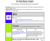 Test Your Digital Literacy