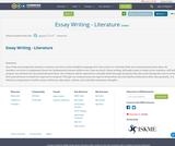 Essay Writing - Literature