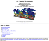 Air Quality Meteorology