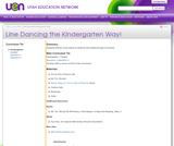 Line Dancing the Kindergarten Way!