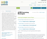 ACES: Learning Strategies