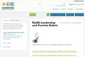 OER Librarian Leadership and Practice Rubric