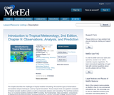 Introduction to Tropical Meteorology, 2nd Edition, Chapter 9: Observations, Analysis, and Prediction
