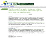 The Minnesota River Valley Rocks!: An Outdoor Observational Investigation in the Landscape and Rocks Along the MN River Valley