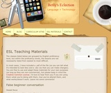 Betsy's Eclection: Language + Technology