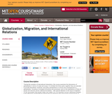 Globalization, Migration, and International Relations, Spring 2006