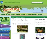 Climate Kids: Plant a Butterfly Garden