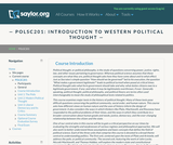 Introduction to Western Political Thought