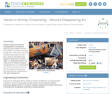Composting – Nature's Disappearing Act
