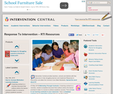 RTI: Response to Intervention Resources