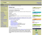 Introduction to mailing lists