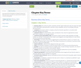Chapter Key Terms
