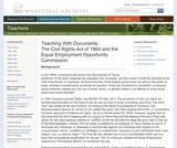 The Civil Rights Act of 1964 and the Equal Employment Opportunity Commission