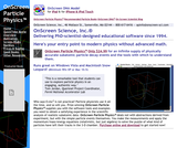 OnScreen Particle Physics